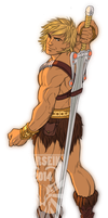 Commission: He-Man! by Harseik