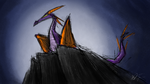 Figment Maleficent Doodle by figment34786