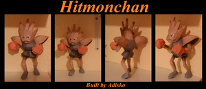 Hitmonchan Paper Pokemon by Adisko