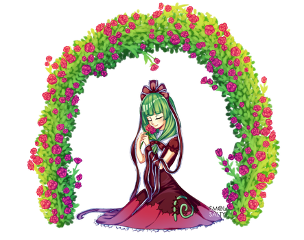 Commission : Roses Arch by SmolSalty