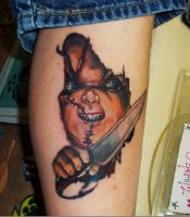 chuckie tattoo by kmgsucks