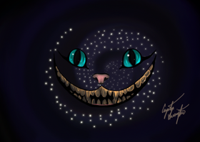 Cheshire Cat Universe by Bright-Eyes-See-Lies