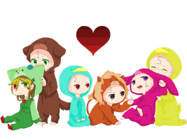 COLLAB: The animals -closed- by sonxfanchara