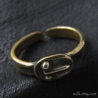 Bronze phallic ring from Ancient Rome by Sulislaw