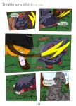 Trouble in the midst Pg14 Ch1 by Skyrocker4cats