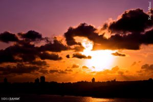 Sunset - Istanbul by stow