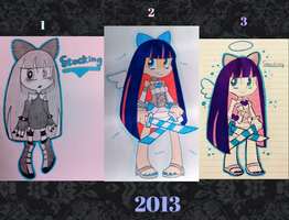 Stocking drawings 2013 by Emmelie-Blade