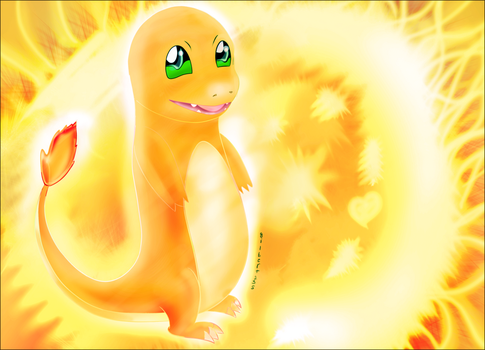 Charmander (gift for SanjayDevean) by gilbert235