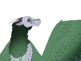 Sage Flat Colored Bust Gift by Sahel-SandWing
