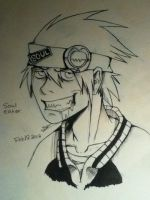 Soul Eater Evans by SamColwell