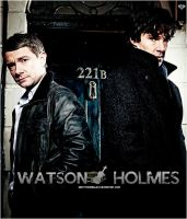 Watson And Holmes by sarittrianaglez
