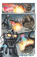 Godzilla: Rulers of Earth issue 14 page 2 by KaijuSamurai