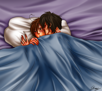 30 days challenge NSFW - spamano 26 by x-Lilou-chan-x