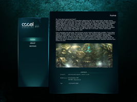 Webdesign - Accel by Voltured