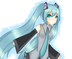 Miku Miku? by WaffleyGoodnessful
