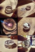 Ring with ruby. work in progress by honeypunk