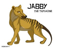 Jabby the Thylacine by pookyns-5