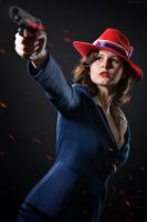 Marvel's Agent Carter Peggy cosplay by Gabardin