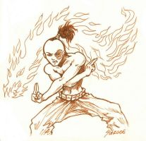 Ink Zuko by SioUte