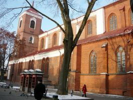 Kaunas St Petras and Povilas Cathedral Basilica by Alchemija