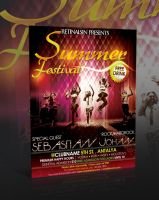 Summer Festival Flyer -PSD- by retinathemes