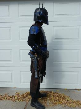 Mandalorian Mercenary side pic by TheCabinetmaker