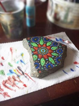 RockPainting by PookieM0N
