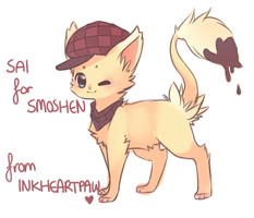.:Gift : Sai:. by InkHeartPaw