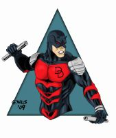 Dare Devil Battle Armor color by Glwills1126