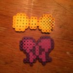 perler bow by wolfyloveanime