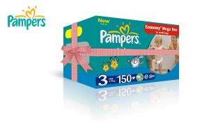 Pampers package by lozadesign