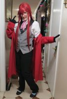 Grell Progress by izzy5605