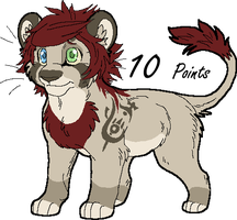 Male Lion Point Adopt 4 GONE by Kasara-Designs