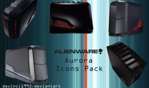 Alienware Aurora Icons pack by davinci1993