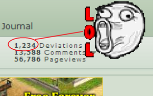 1,234 Deviations by TMan5636