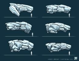 Vehicle Roughs by Seaurchinstosun