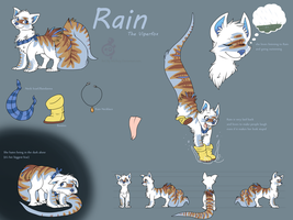 Rain the viperfox Ref by MizAmy