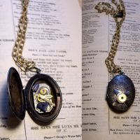 Departed Lover Locket by LeviathanSteamworks