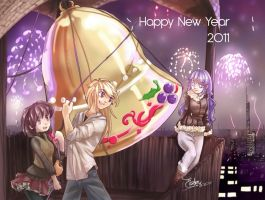 Happy new year by LaGomita
