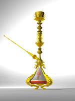 Rococo-style hookah by GigaGames