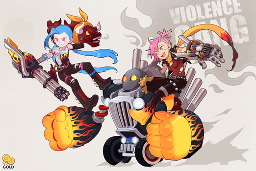 Violence Gang! by 2gold