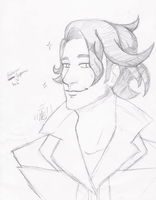 Professor Sycamore .:Sketch:. by Fire-N-Ice42
