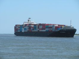 Boat 004- Container Ship by OverStocked