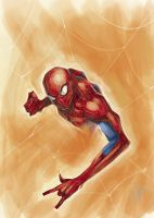 Spidey Warm-up by M-Atiyeh