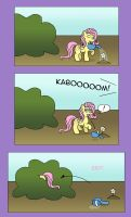 Comic Test: Fluttershy by GoggleSparks