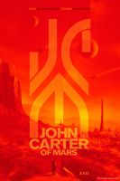 Alternate Universe JOHN CARTER OF MARS Poster 2 by A13XANDER