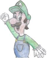 Luigi by PenguinBurger
