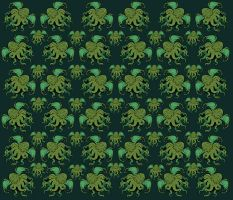 Cthulhu fabric by missmonster