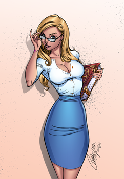 Alice (The Librarian) by J-Skipper