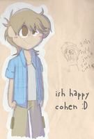 happy cohen by coolgaltw